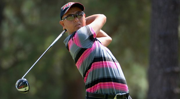 Toru Taniguchi shot an 18-over 88 in the third round of the 2014 U.S. Open at Pinehurst.