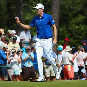 Brendon Todd during Saturday's third round of the 2014 U.S. Open at Pinehurst No. 2.