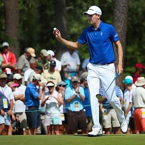 Brendon Todd during Saturday's third round of the 2014 U.S. Open at Pinehurst No. 2.