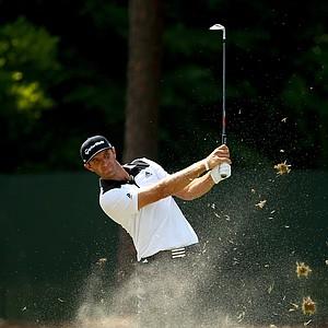 Dustin Johnson during Saturday's third round of the 2014 U.S. Open at Pinehurst No. 2.