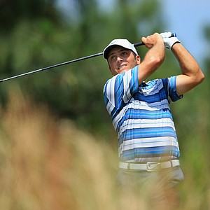 Francesco Molinari during Saturday's third round of the 2014 U.S. Open at Pinehurst No. 2.