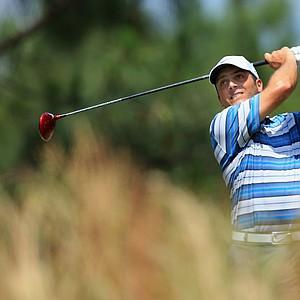 Francesco Molinari during Saturday's third round of the 2014 U.S. Open at Pinehurst No. 2.