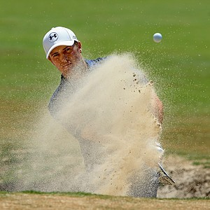 Jordan Spieth during Saturday's third round of the 2014 U.S. Open at Pinehurst No. 2.