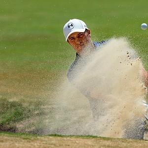 Jordan Spieth during Saturday's third round of the 2014 U.S. Open at Pinehurst No. 2.