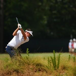 Keegan Bradley during Saturday's third round of the 2014 U.S. Open at Pinehurst No. 2.
