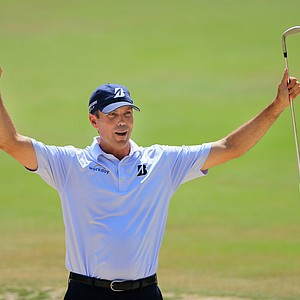 Matt Kuchar during Saturday's third round of the 2014 U.S. Open at Pinehurst No. 2.