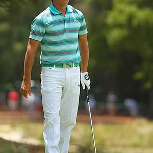 Rickie Fowler during Saturday's third round of the 2014 U.S. Open at Pinehurst No. 2.