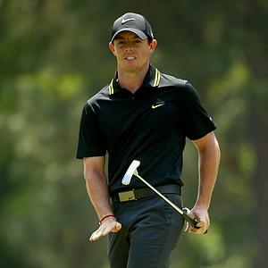 Rory McIlroy during Saturday's third round of the 2014 U.S. Open at Pinehurst No. 2.
