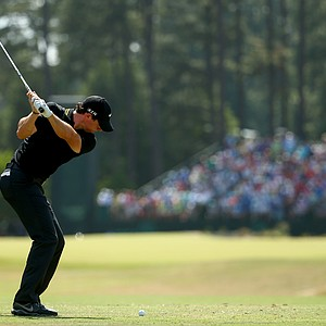 Rory McIlroy during Saturday's third round of the 2014 U.S. Open at Pinehurst No. 2.