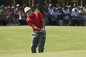 Russell Henley during Saturday's third round of the 2014 U.S. Open at Pinehurst No. 2.