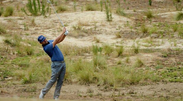 Ryan Moore during the 2014 U.S. Open at Pinehurst.