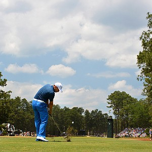 Sergio Garcia during Saturday's third round of the 2014 U.S. Open at Pinehurst No. 2.