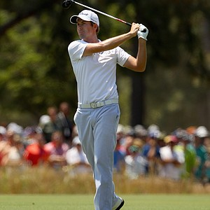 Webb Simpson during Saturday's third round of the 2014 U.S. Open at Pinehurst No. 2.