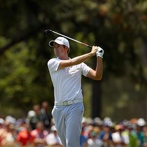 Webb Simpson during Saturday's third round of the 2014 U.S. Open at Pinehurst No. 2.