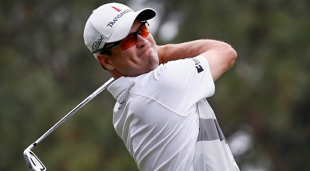 Zach Johnson aced the par-3 ninth hole on Sunday, the first hole-in-one of the tournament.