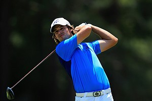 Aaron Baddeley during Sunday's final round of the 2014 U.S. Open at Pinehurst No. 2.