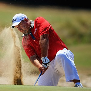 Brendon de Jonge during Sunday's final round of the 2014 U.S. Open at Pinehurst No. 2.