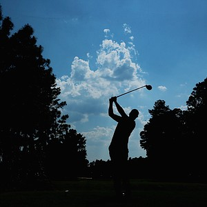 Henrik Stenson during Sunday's final round of the 2014 U.S. Open at Pinehurst No. 2.