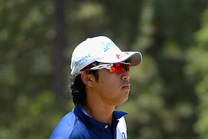 Hideki Matsuyama during Sunday's final round of the 2014 U.S. Open at Pinehurst No. 2.