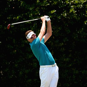 Ian Poulter during Sunday's final round of the 2014 U.S. Open at Pinehurst No. 2.