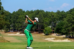 Kevin Na during Sunday's final round of the 2014 U.S. Open at Pinehurst No. 2.