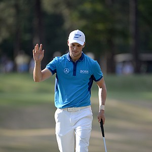 Martin Kaymer during Thursday's first round of the 2014 U.S. Open at Pinehurst No. 2.