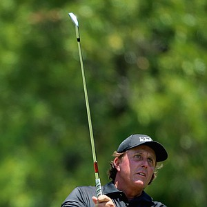 Phil Mickelson during Sunday's final round of the 2014 U.S. Open at Pinehurst No. 2.