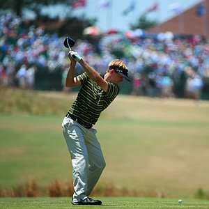 Russell Henley during Sunday's final round of the 2014 U.S. Open at Pinehurst No. 2.