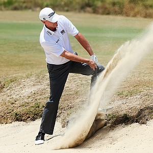 Steve Stricker during Sunday's final round of the 2014 U.S. Open at Pinehurst No. 2.