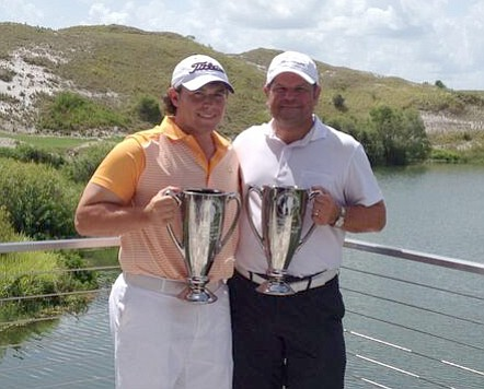 Father & Son Champs Chet (l) and his dad Ralph Ghioto.