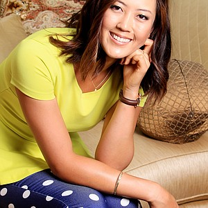 Michelle Wie photographed at Trump National Golf Club.