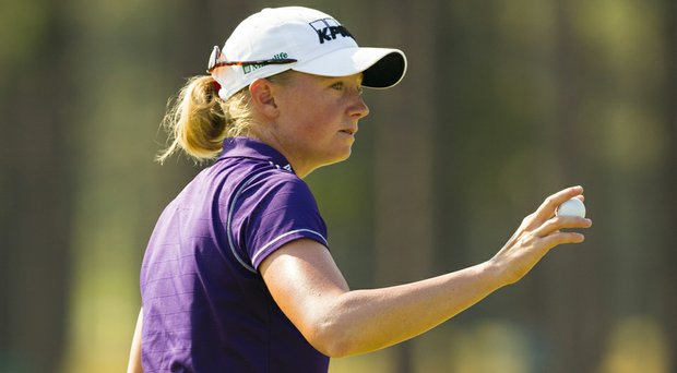 Stacy Lewis shot a 3-under 67 in the first round of the 2014 U.S. Women's Open at Pinehurst.
