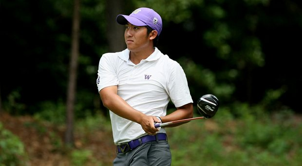 Cheng-Tsung Pan, who will play in next month's Open Championship, shot 5-over 74 Friday at the Northeast Amateur.