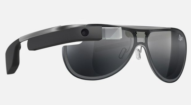 Google Glass, an eyewear-like computerized device that retails for $1,500, provides prompt metrics on a golfer's swing.