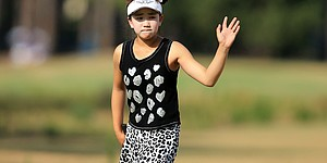 PHOTOS: Lucy Li, 11, at U.S. Women's Open