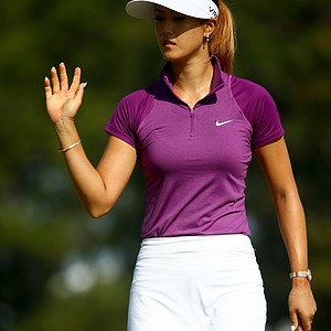 Michelle Wie during Friday's second round of the 2014 U.S. Women's Open at Pinehurst No. 2.