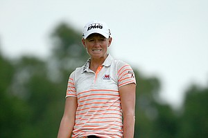 Stacy Lewis during Friday's second round of the 2014 U.S. Women's Open at Pinehurst No. 2.