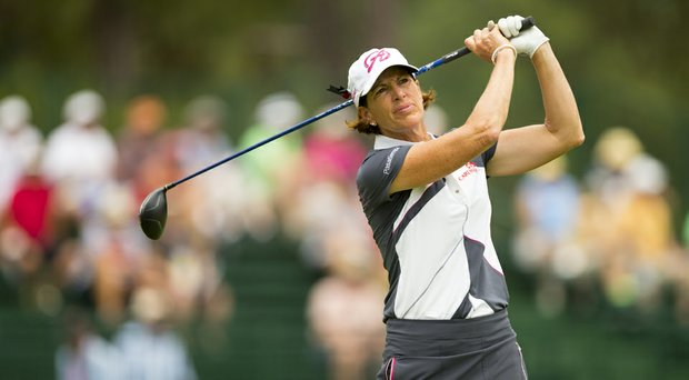 Juli Inkster fired a tournament-low, 4-under 66 to vault into contention at the U.S. Women's Open.