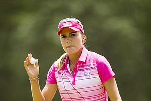 Lexi Thompson during Saturday's third round of the U.S. Women's Open at Pinehurst No. 2.