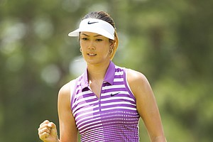 Michelle Wie during Saturday's third round of the U.S. Women's Open at Pinehurst No. 2.