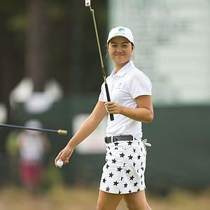 Minjee Lee during Saturday's third round of the U.S. Women's Open at Pinehurst No. 2.