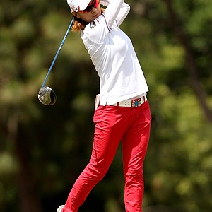 Na Yeon Choi during Saturday's third round of the U.S. Women's Open at Pinehurst No. 2.