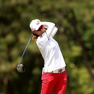 Na Yeon Choi during Saturday's third round of the U.S. Women's Open at Pinehurst No. 2.