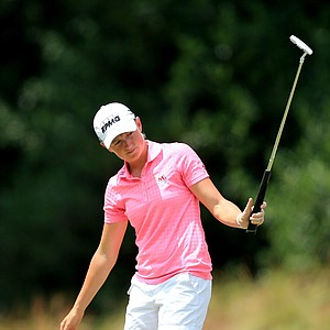 Stacy Lewis during Saturday's third round of the U.S. Women's Open at Pinehurst No. 2.