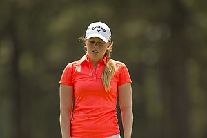 Stephanie Meadow during Saturday's third round of the U.S. Women's Open at Pinehurst No. 2.