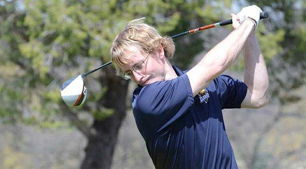 Josh Udelhofen during the Wisconsin Match Play Championship on June 22.