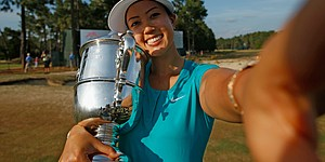 PHOTOS: Michelle Wie, U.S. Women's Open final round