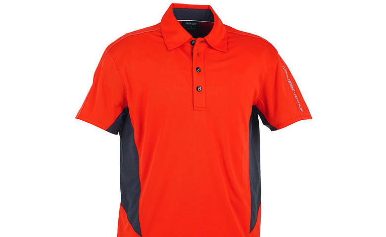 Galvin Green's Millard polo uses body-mapping technology.
