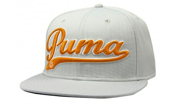 One of six colors available in Puma Golf's Script Cool Cell Snapback Cap.