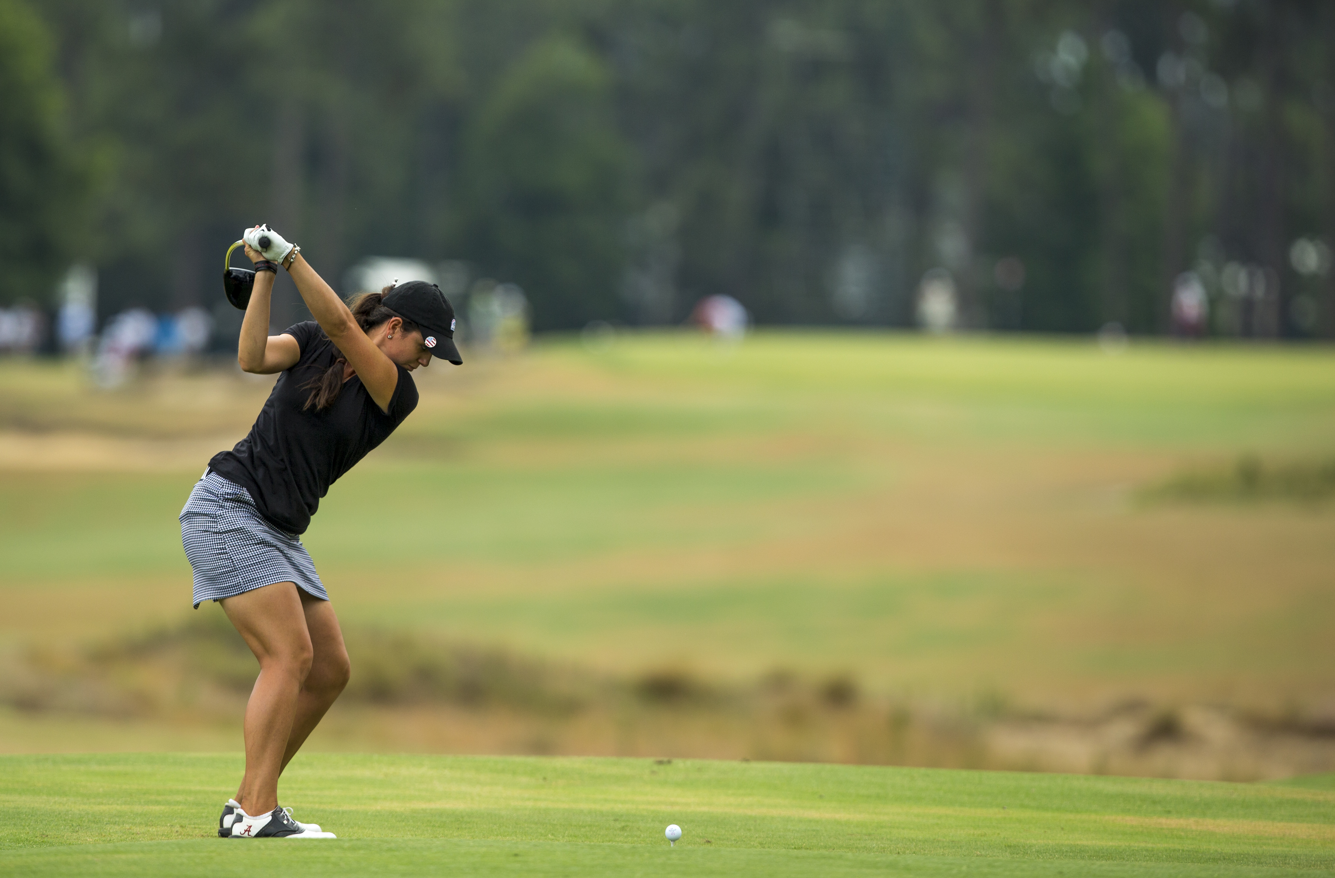 Emma Talley during the 2014 U.S. Women's Open at Pinehurst.